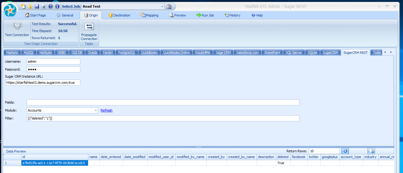 SugarCRM REST Connector Retrieve Deleted Records.png