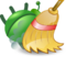 Green bug and broom.png
